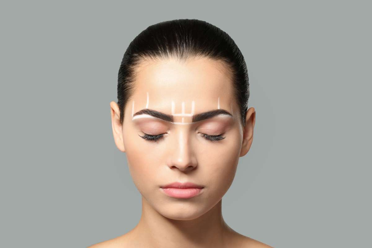 tattoo makeup eyebrow feathering