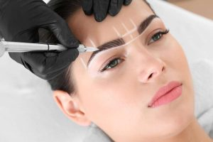microblading feathering