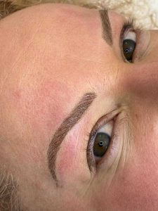 Photograph of Cosmetic Eyebrow Feathering
