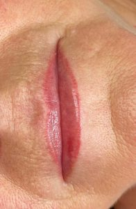 Image of Lip Tattoo