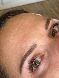 Photograph of Microblading Tattoo Eyebrows