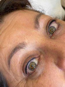 Photograph of Eyeliner Tattoo