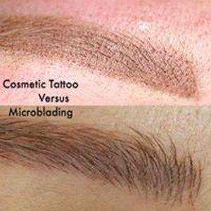 Difference of Eyebrow Tattoo and Eyebrow Microblading