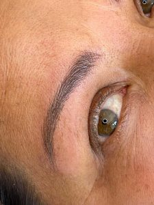 Photograph of Eyebrow Microblading