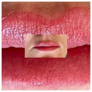 Cosmetic Lip Tattoo