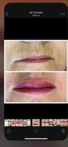 Sample of Lip Tattoo
