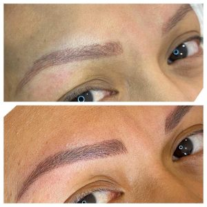 Photograph of Eyebrow Tattoo
