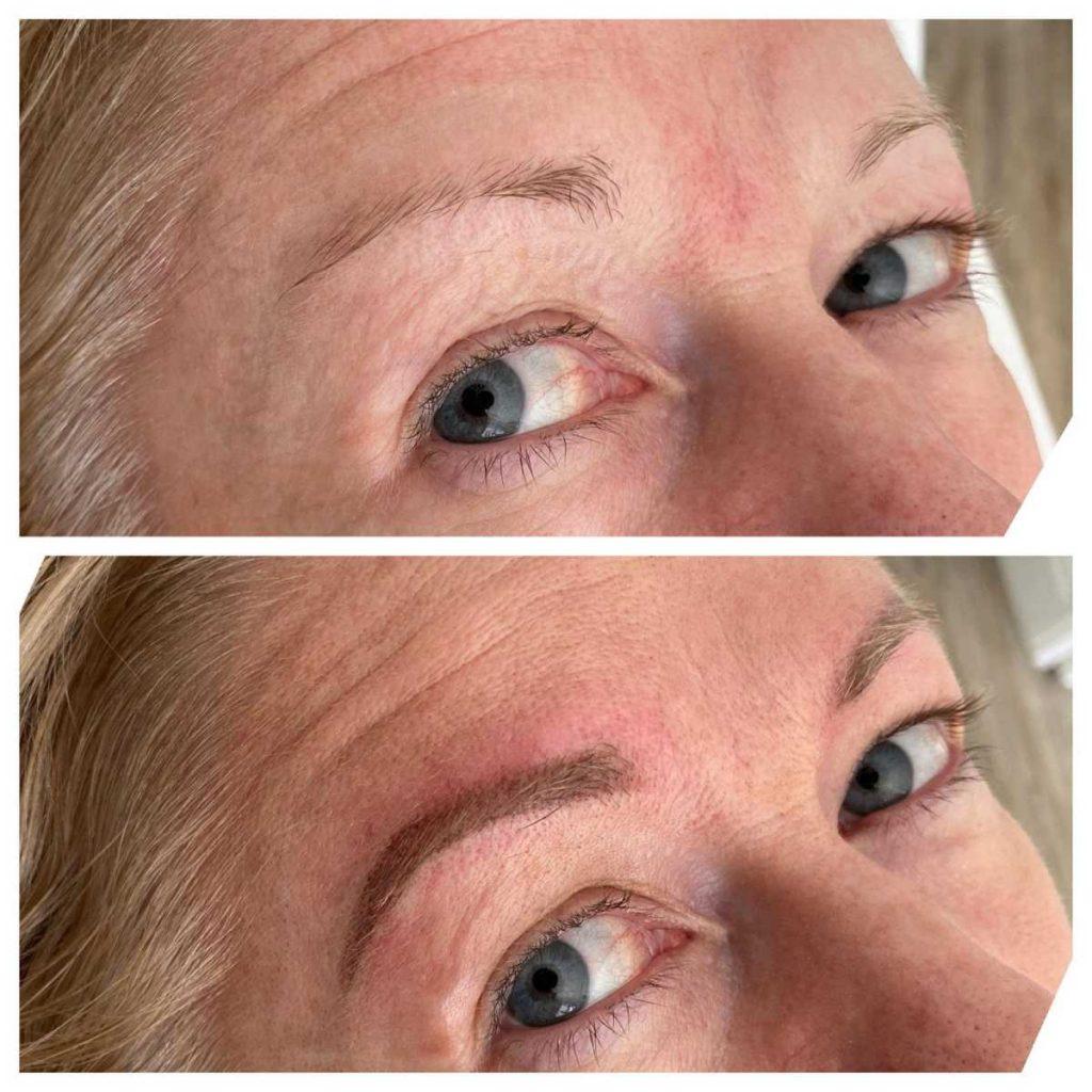 Photograph of Semi Permanent Eyebrow Tattoo