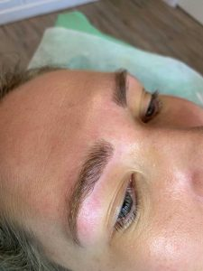 Permanent Eyebrow Feathering