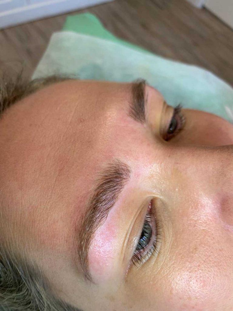 Permanent Eyebrow Feathering