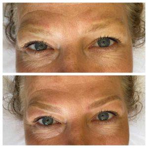Image of Eyebrow Feathering